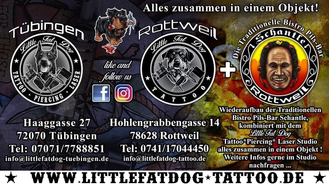 Dark Fair 2020: Little Fat Dog – Tattoo Studio aus Rottweil & Tübingen