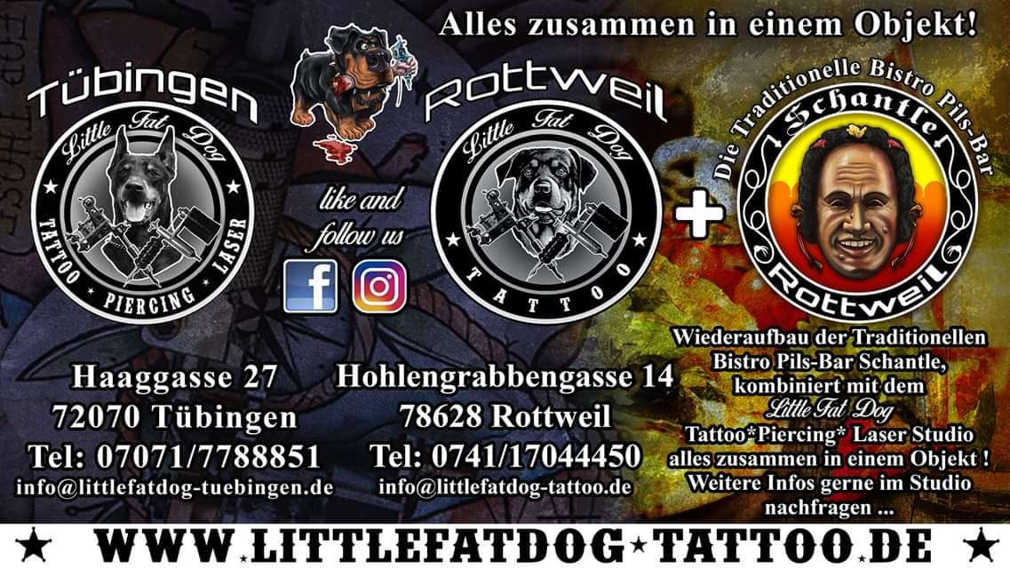 Dark Fair 2020: Little Fat Dog – Tattoo Studio aus Rottweil & Tübingen
